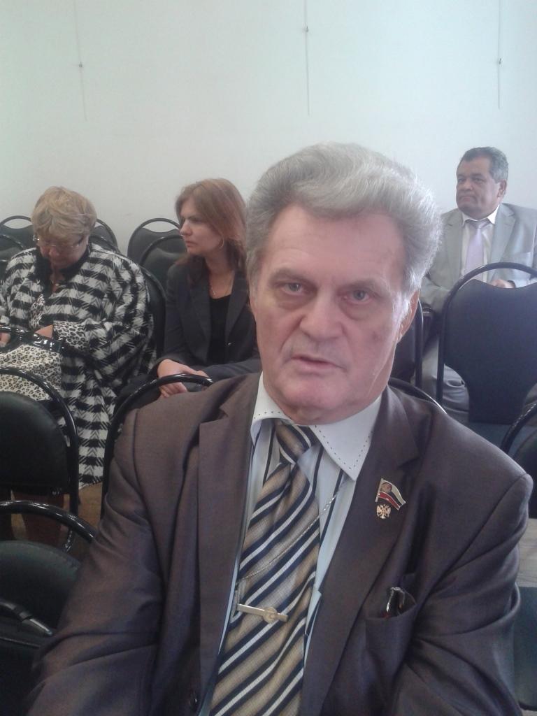 Шилин Геннадий Александрович, член Президиума Российской Народной Академии наук, основатель ЭкоБиоПсихологии