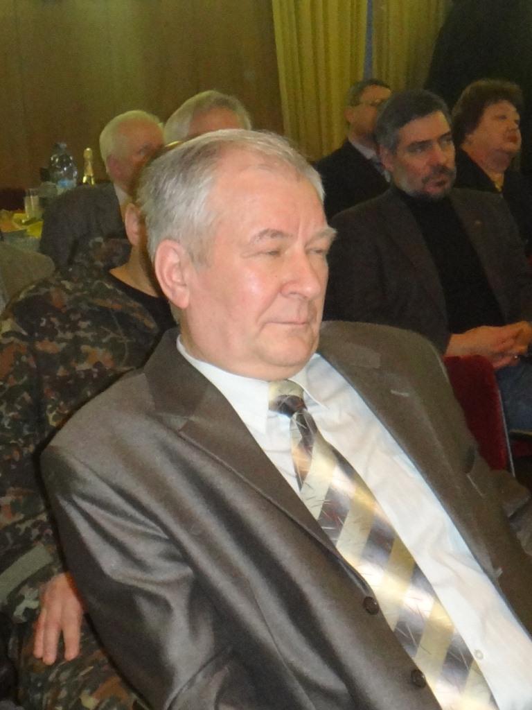 Задерей Валерий Александрович, первый вице-президент Российской Народной Академии наук
